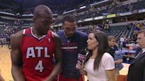 Scott and Millsap Postgame