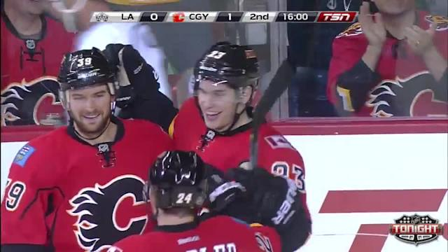 Los Angeles Kings at Calgary Flames - 04/09/2014