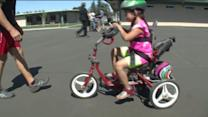 Community Replaces Stolen Special Education Bikes