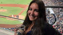 San Diego Fan Makes Epic Foul Ball Catch With Her Beer Cup -- And Celebrates Like A Boss