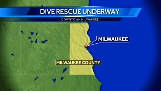 Body reported in Milwaukee River