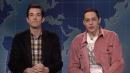 Pete Davidson Returns To 'Weekend Update' Desk With John Mulaney