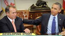 Fiscal cliff negotiations: Obama, Boehner meet