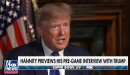 Trump trashes Bloomberg in pre-Super Bowl interview