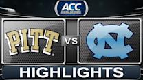 Pittsburgh vs North Carolina | 2014 ACC Basketball Highlights