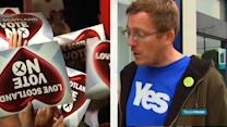 THE NIGHT BEFORE: UK'S FATE HANGS ON A DIVIDED SCOTLAND