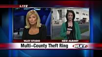 Southern Indiana police make arrests in theft case