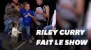 Riley Curry vole encore la vedette à son père Stephen Curry