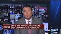 NFL: Will appeal Tom Brady ruling