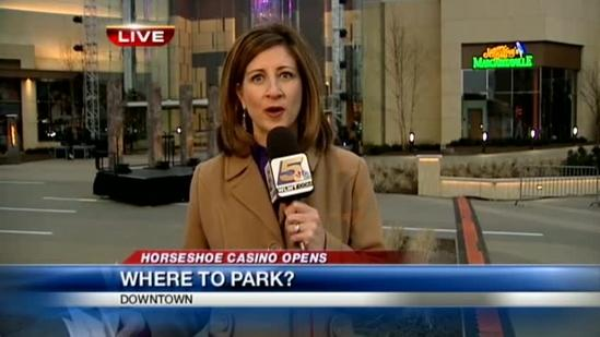 Where to park for the casino opening