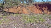 Massive sinkhole appears in Northern Territory, Australia