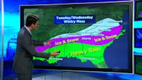 Southern storm expected to hit Northeast next