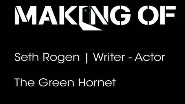 Seth Rogen talks 'The Green Hornet'