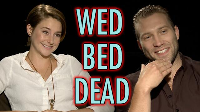 Divergent Cast Plays Wed, Bed, Dead - Shailene Woodley, Miles Teller, Jai Courtney