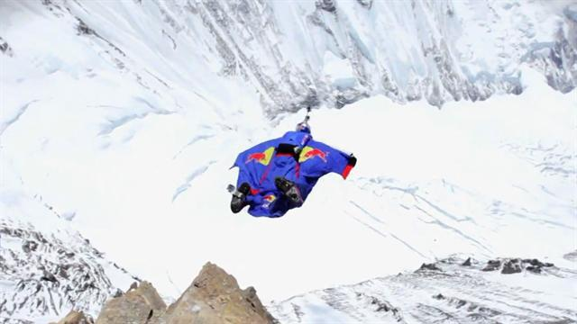 BASE jumper honors first climber of Mt. Everest will jump off peak