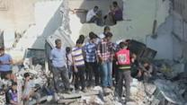 Israel Airstrikes Intensify in Gaza Strip