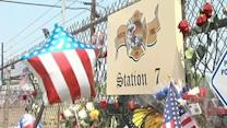 People stop to honor 19 firefighters