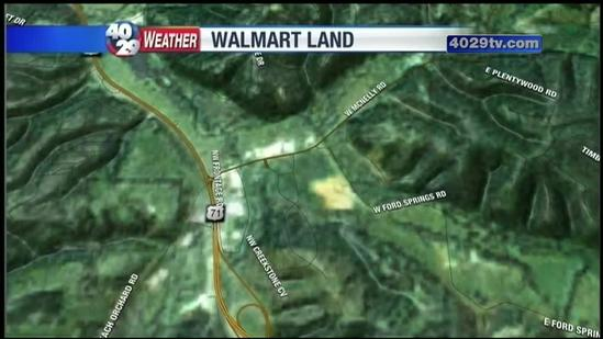 Walmart opposes transmission line plan