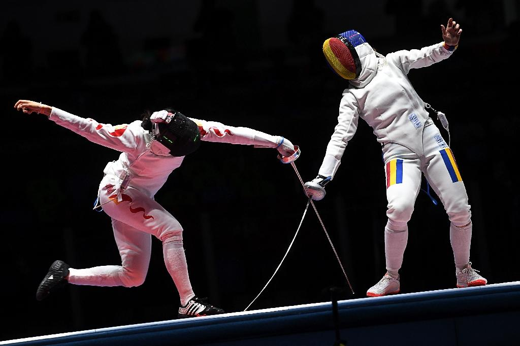 Romania Win Women S Epee Team Fencing Title In Rio