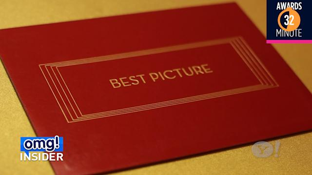 Who is the man behind the winning Oscar envelope?