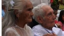 99-year-old Bride Marries 103-year-old Groom