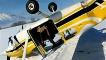 Man Films Own Plane Crash, Wife and Baby On Board