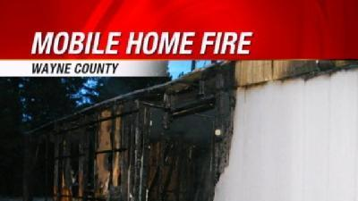 Wayne County Mobile Home Fire