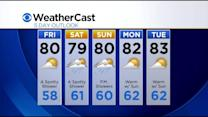 KDKA-TV Evening Forecast (7/31)