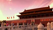 Beijing's Tiananmen Square and Great Wall of China