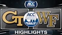 Georgia Tech vs Wake Forest | 2014 ACC Baseball Championship Highlights