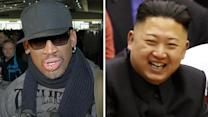 Dennis Rodman calls North Korean leader 'an awesome kid'