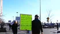 Raw: Protesters gather outside Colo. Walmart