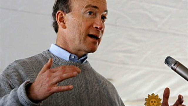 It's family first for Gov. Mitch Daniels