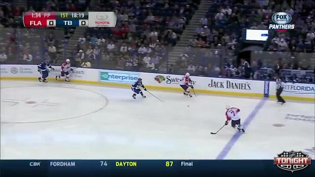 Florida Panthers at Tampa Bay Lightning - 03/13/2014