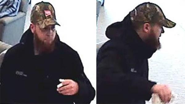 Wilmington bank robbery suspect sought