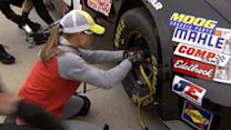 Fast and Fabulous: NASCAR's First Female Pit Crew Member