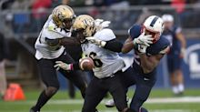 UCF beats UConn, leaves 'rivalry' trophy on the field