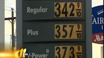 Hurricane Sandy could mean lower gas prices