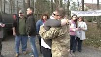 South Jersey soldier receives warm homecoming