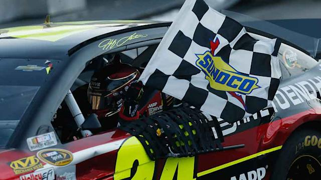 Final Laps: Gordon triumphs in Martinsville