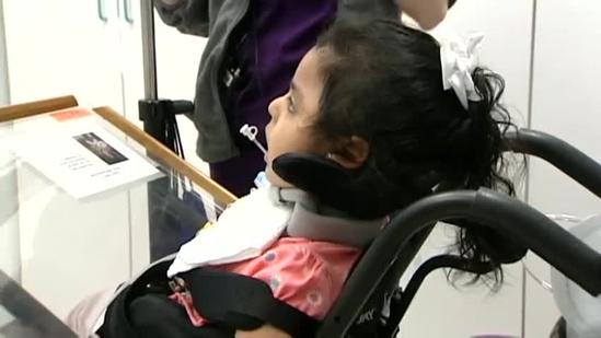 New device called MyToby helps young girl speak